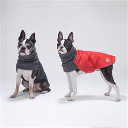 Trench-Coat Red for dogs