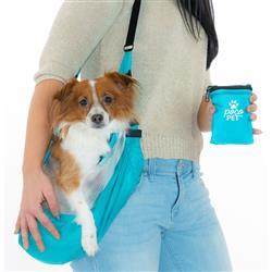 PocoPet Packable Dog Carrier - Bright Blue