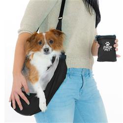 PocoPet Packable Dog Carrier - Black
