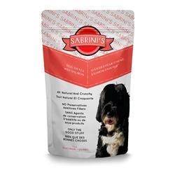 Sabrini's Wild Salmon Dog Treats, 3oz. Bag