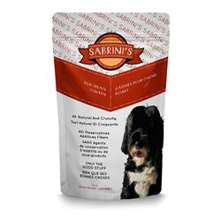 Sabrini's 100% Chicken Dog Treats, 3oz. Bag