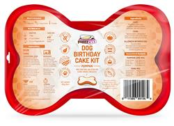 Puppy Cake Dog Birthday Cake Kit Pumpkin