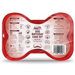 Puppy Cake Dog Birthday Cake Kit Red Velvet