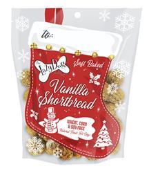 Vanilla Shortbread Stocking