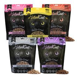 Freeze Dried Mini Nibs Cat Food 12oz by Vital Essentials