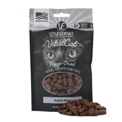 Vital Cat® Freeze-Dried Rabbit Bites Cat Treats, 0.9 oz