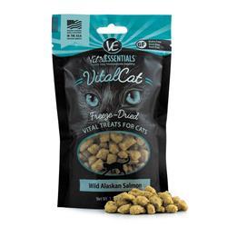 Vital Cat® Freeze-Dried Wild Alaskan Salmon Cat Treats, 1.1 oz
