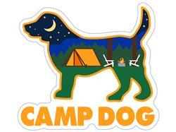 "Camp Dog - 3"" Decal"