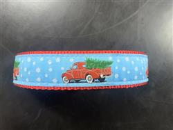 """Christmas Farm Truck - 1.25"""" Collars, Leashes and Harnesses"""