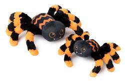 Creepers Spider Orange/Black by FuzzYard