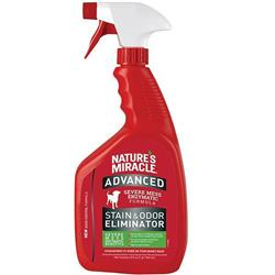 Nature's Miracle Advanced Stain & Odor Eliminator for DOGS - Spray 32 oz.