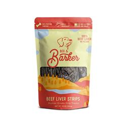 Beef Liver Strips Dog Treats, 10oz. Bags