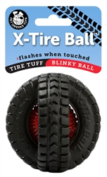 "3.5"" Blinky X-Tire Ball"