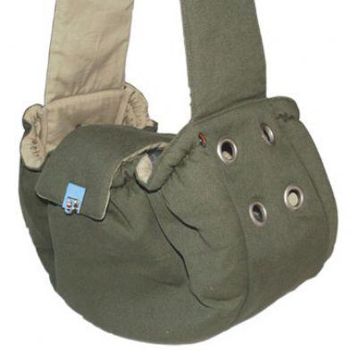 DOGO Army Green Messenger Bag