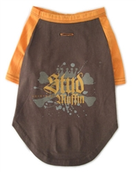 Stud Muffin Brown/Orange Tee