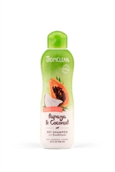 TropiClean Papaya and Coconut Shampoo, 20oz.