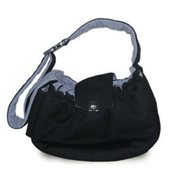 DOGO Black Messenger Bag