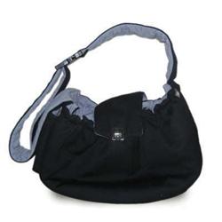 DOGO Black Messenger Bag