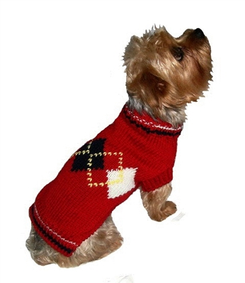 "Red Argyle Sweater (only one 16"" and two 6"" left) (Disc. & On Sale)"