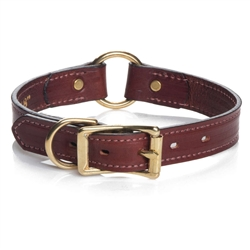 Hunt Leather Collars (Narrow & Wide) - Chestnut