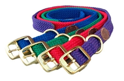 "Double Braid Collar- 1"" x up to 21"""