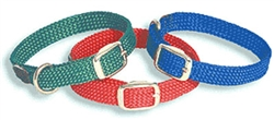 "Double Braid Junior Collar- 9/16"" x up to 14"""