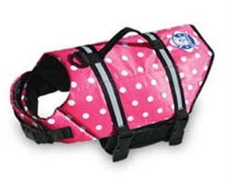 Doggy Life Jacket- Polka Dot