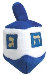 Multipet Talking Dreidel Dog Toy