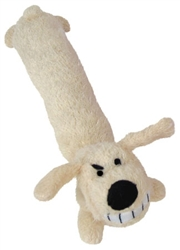 Loofa Dog - (Award Winning Plush Elongated Toy with squeakers)