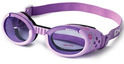 Lilac Doggles ILS with Flowers & Purple Lens