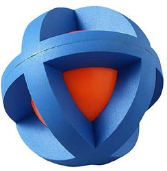 BOINGO BALL™ (Plastic Sphere Covered by Rubber Grippers)