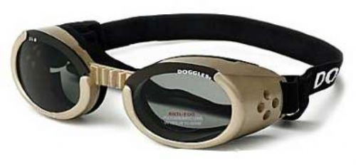 Chrome ILS Doggles with Light Smoke Lens