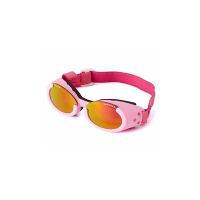 Pink ILS Doggles with Sunset Mirror Lens & Straps