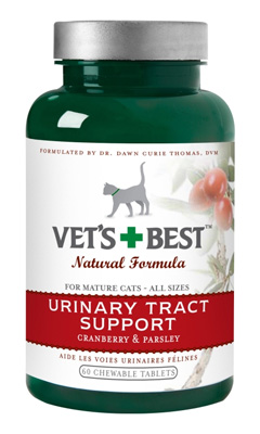 Vet's Best Urinary Tract Support Cat Supplement, 60 count