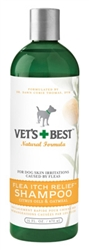 Flea Itch  Relief Shampoo 16 oz .