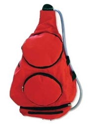 Mighty Dog Pack 'n Go Dog Pack - Red
