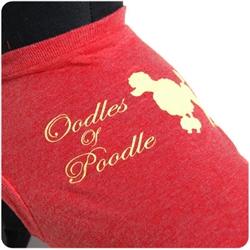 Oodles of Poodle Identi-tees