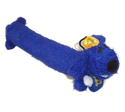 Hanukkah Loofa Dog Toy 12""