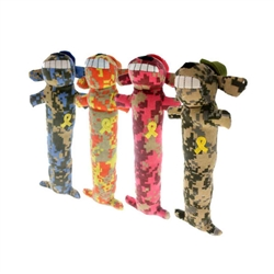 Support Our Troops Loofa Dog Toy