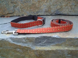 Sunstone- Fabric Collars and Leashes