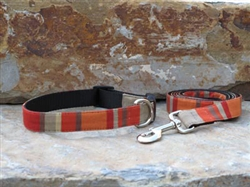 Pomodoro-  Fabric Collars and Leashes