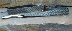 Sapphire Fabric Collars and Leashes