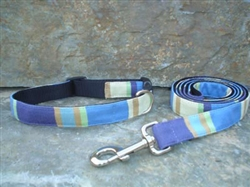 Summer Ocean- Fabric Collars and Leashes