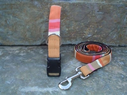 Summer Sun- Fabric Collars and Leashes