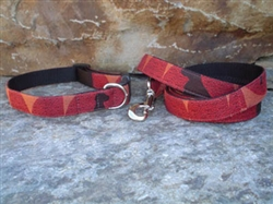 William Wegman Polka Dog Fabric Collars and Leashes (Cardinal)