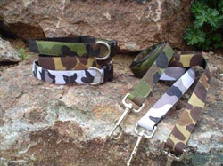 Camo Collars and Leashes
