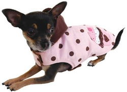 Royal Sweet Treat Coat (Pink) by Ruff Ruff Couture®