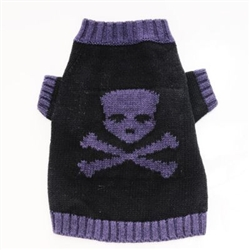 Skull Sweater - Purple*