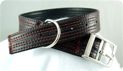 Red Hot Recycled Rubber Collar