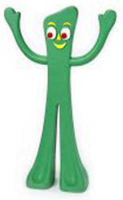 """Gumby - 9"""""""
